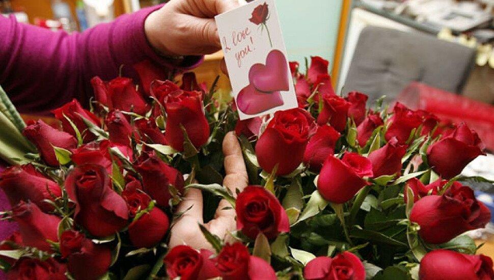 Выбираем букет цветов на День влюблённых